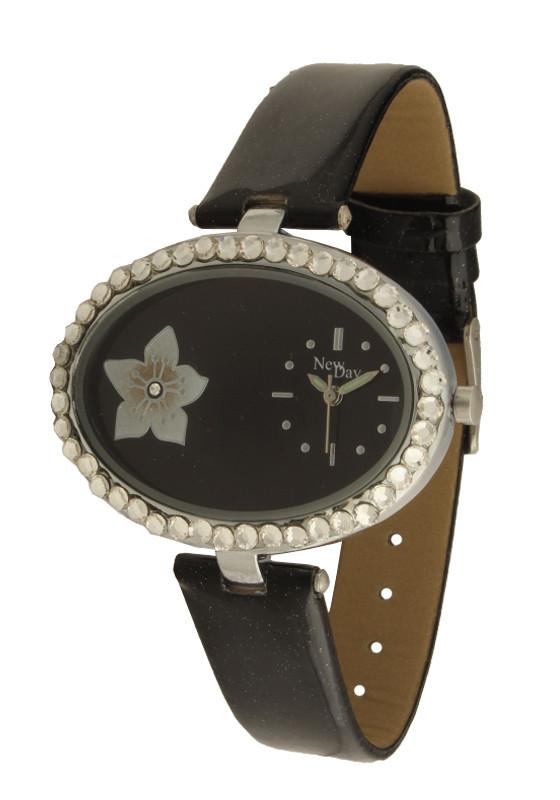 Часы NewDay женские оригинальные с цветком