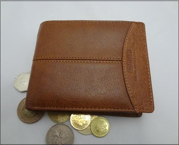 Чоловічий шкіряний гаманець Gentleman Classic