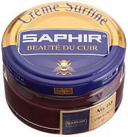 Увлажняющий крем для обуви Saphir Creme Surfine бордо (08) 50 мл