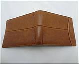 Чоловічий шкіряний гаманець Gentleman Classic, фото 2