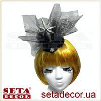 Шляпка Рождественская звезда новогодняя
