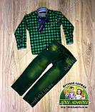 Джинсы зеленые для мальчика 2 года, фото 4