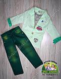 Джинсы зеленые для мальчика 2 года, фото 5