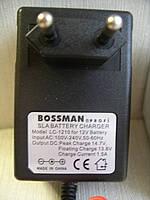 Автоматическое импульсное зарядное устройство для свинцовых (SLA) аккумуляторов BOSSMAN LC-1210 1A 12V
