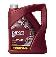 Моторное масло Mannol Diesel  TDI 5w30 5л