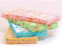Детский матрас для кроватки КПК (кокос-поролон-кокос), 120х60х10 см