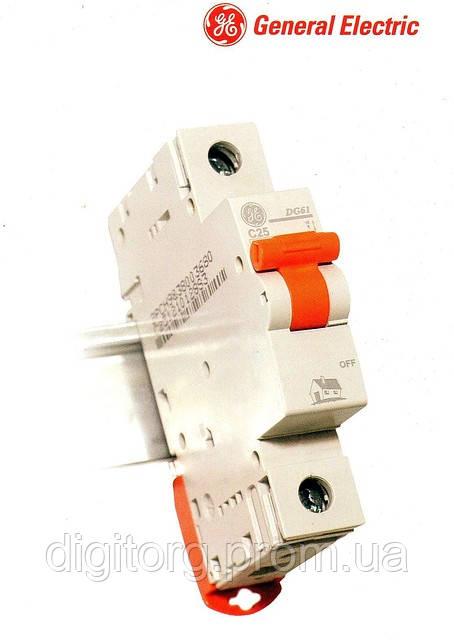Автоматический выключатель GE 1/25А