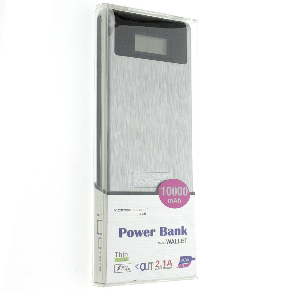 Powerbank Konfulon Wallet 10000