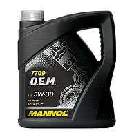 Моторное масло Mannol O.E.M. for Toyota Lexus 5w30 4л