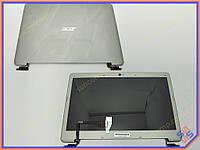 Матрица с крышкой для ноутбука Acer Aspire S3-951 S3-391 Цвет Silver . (Комплект в сборе с матрицей, шлейфом и петлями для Acer S3-951)