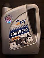 Масло моторное  SKY  Power Pro    15w-40   4л