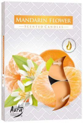 Ароматические  свечи-таблетки цветок мандарина Bispol