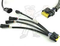 Переходник для соединения газовых форсунок Matrix с блоком управления под разъем Valtek, Rail