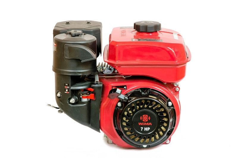 Двигатель бензиновый WEIMA WM170F-3(R) NEW (1800об/мин, шпонка, бензин 7.0 л.с.)