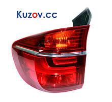 Задний фонарь BMW X5 E70 внешний, рестайлинг 10-13 левый (Magneti Marelli) 63217227789