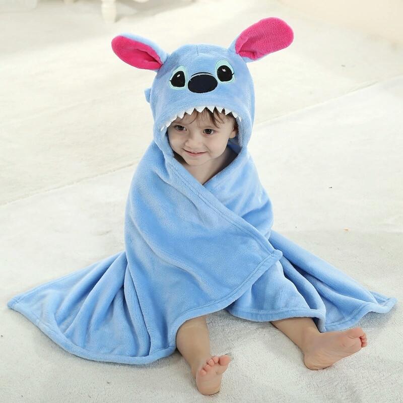 полотенце детское с капюшоном фото