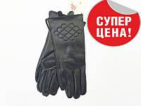Перчатки кожаные женские в СРЕДНЕМ размере, фото 1