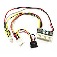 DC-DC преобразователь 12В 250W Pico ATX (ATX 24PIN + SATA + PATA + 12V CPU)