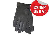 Мужские зимние кожаные перчатки M, фото 1