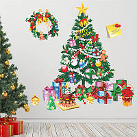 """Интерьерная наклейка """"Новогодняя елка"""""""