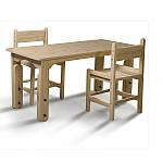 Парты, столы и стульчики – помощники в формировании детской осанки
