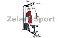 Фитнес-станция Home Gym (мет,р-р 150x108x203см,вес польз.до 100кг,вес плит 100LB) уп. в 3 ящ.