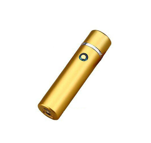 Электроимпульсная USB зажигалка WEXT Shell золотая матовая
