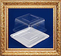 Упаковка для торта  квадратная сторона 20 см.