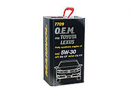 Моторное масло Mannol O.E.M. METALL for Toyota Lexus 5w30 4