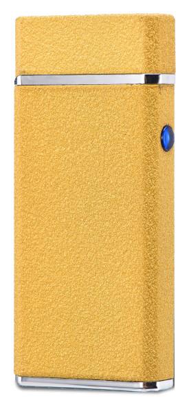 Электроимпульсная USB зажигалка WEXT Amethyst золотая матовая