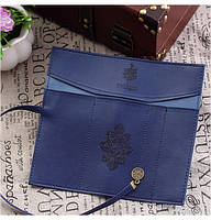 Стильный и компактный пенал-кофр Сумерки, синий, фото 1