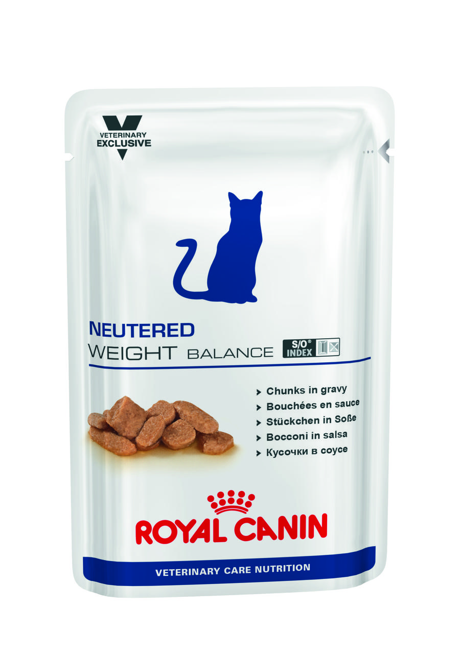 Паучи Royal Canin Neutered Weight Balance 100г (в упаковке 12шт.)