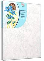 Картина по номерам RS-N0001344 Девушка-тайна (35 х 45 см) РОСА
