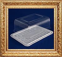 Упаковка для торта прямоугольная заказной высокий