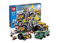 """Конструктор Lepin 02071(аналог Lego 4204) """"Шахта"""", 838 дет"""