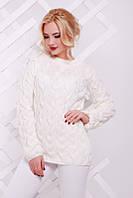 Красивый вязаный свитер женский Lolo 42–50р. в расцветках