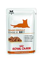 Паучи Royal Canin Senior Consult Stage 2 100г (в упаковці 12шт.)