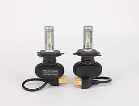 Светодиодная лампа цоколь H4, S1 GSP 6500К, 4000 lm 25W, 9-36В, фото 3