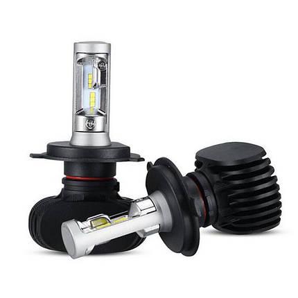 Светодиодная лампа цоколь H4, S1 GSP 6500К, 4000 lm 25W, 9-36В, фото 2