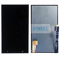 Дисплей + сенсор (модуль) HTC One M7 802w Dual Sim черный