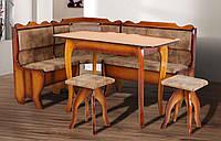 Кухонный уголок Даллас с раскладным столом