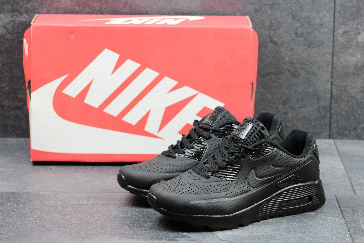 Кроссовки Nike Air Max мужские (черные), ТОП-реплика