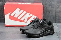 Кроссовки Nike Air Max мужские (черные), ТОП-реплика, фото 1