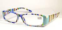 """Женские очки для зрения """"Полосатики"""" (8071 СЕ), фото 1"""