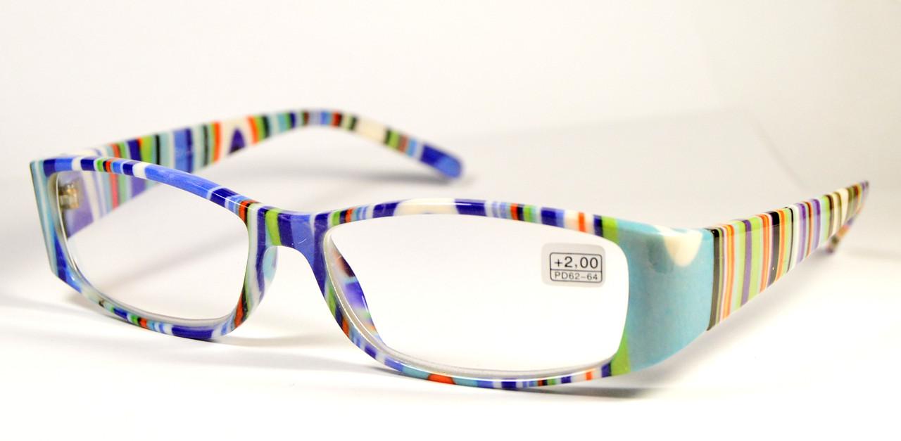 """Женские очки для зрения """"Полосатики"""" (8071 СЕ)"""
