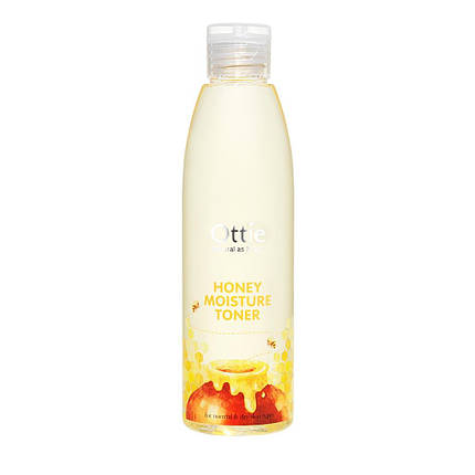Увлажняющий тонер с экстрактом меда  Ottie Honey Moisture Toner, 200 мл, фото 2