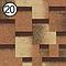Битумная черепица Roofshield Модерн №20 сандалвый