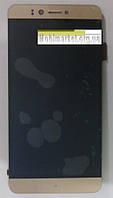 Модуль (сенсор+дисплей) дляPrestigio MultiPhone PSP 3530 Muze D3, 3531 Muze E3, 7530 Muze A7, золотий