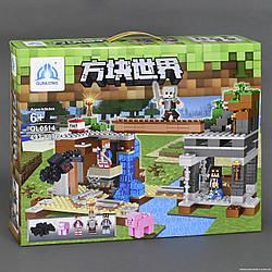 Конструктор Minecraft QL 0514, 493 дет