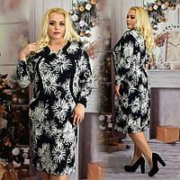 Платье большого размера Анита кристалл, красивое платье для полных